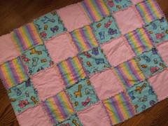 Mar13.08_Pink Rag Baby Blanket 005