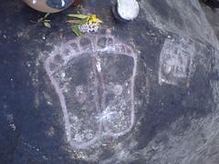 Annamalaiyar Patham (Innerseeker) Tags: john gopal tiruvannamalai thiyaga ramanamaharishi siddhar annamalaiyar meditationplace