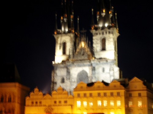 Praga by night - Old Down Hall