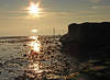 All that glitters (Mr Grimesdale) Tags: sunset sunlight seascape reflection beach liverpool evening sony merseyside rivermersey haale mrgrimsdale stevewallace dsch2 mrgrimesdale grimesdale