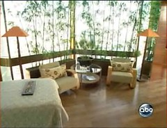 Interieur van de duurste hotelkamer in NYC - screencap Good Morning America/ABC