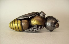 Robot Bee Cane with Wood Top Sculpture (Builders Studio) Tags: wood fiction people sculpture man art classic yellow statue cane metal trek insect walking toy person gold star golden robot amber flying punk comic acrylic technology wasp geek mechanical tech metallic space painted machine artificial science retro steam nasa bee clear replica honey ia figure scifi stick hornet pulp wars mead figurine hive android prop mecha droid geekery bot mech robo automaton steampunk techie robotic cyclon