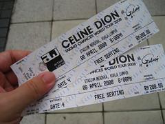 Celine Dion's Taking Chance Kuala Lumpur 2008