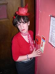 Rachael: Angel of t'North (bitter69uk) Tags: gritty actress upperstreet harrogate islington northyorkshire yorkshirelass northernstar kingsheadtheatre rachaelhalliwell ourrachael