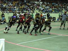 CLT Rollergirls - 5/18/08 vs. Star City Roller...