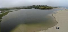 Carmel River Lagoon (kyteman) Tags: california beach fog beak carmel photomerge ripples kap carmelriver fled autokap windsandandwater chdk gent360