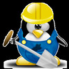 Tux by Kami23 - tux.crystalxp.net/en.id.12292-working-tux.html