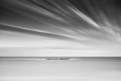 The Island (blentley) Tags: canon eos 5dmkiii 5d3 1635mm f4l is usm nisi filters nisifilters long exposure black white monochrome bw sky clouds bigstopper coogee sydney australia ocean wedding cake island waves icing