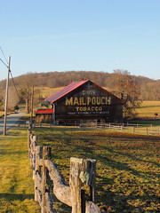 John Deere & Mail Pouch (George Neat) Tags: mail pouch barn somerset westmoreland county pa pennsylvania buildings landscapes scenic george neat patriot portraits