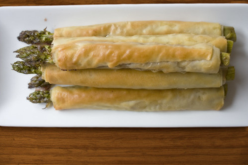 Asparagus in Filo Recipe