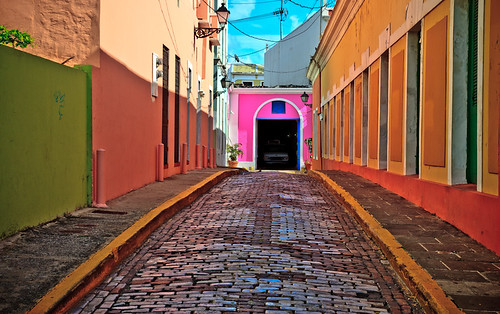 My Photo of the Day   The Colorful Alley