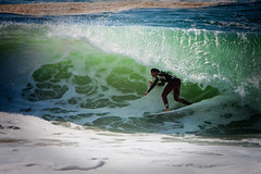 (One_day_in_my_garden) Tags: ocean sea france beach water la surf surfer board tube wave hossegor riding vague plage landes aquitaine graviere deferlante