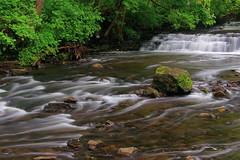 A Bit of Swirly Creek, A Bit Of A Waterfall.....A Mossy Rock (+David+) Tags: rock waterfall moss swirly corbettsglen irondequoitcreek postcardfalls