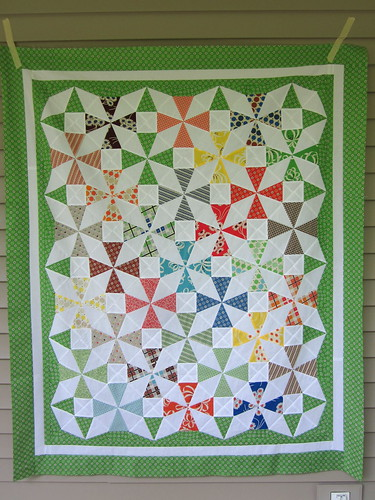 Saltwater Taffy Quilt Top #2
