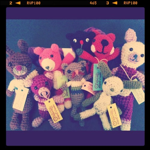 Amigurumi with tags