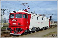 40-0442-0 (Zoly060-DA) Tags: red white electric train romania co locomotive passenger 40 5100 kw cluj napoca cfr asea calatori 0442