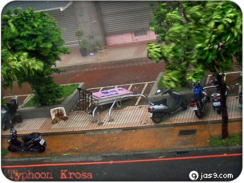 Typhoon Krosa 1