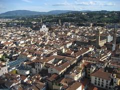 Firenze: Duomo: koepel-uitzicht
