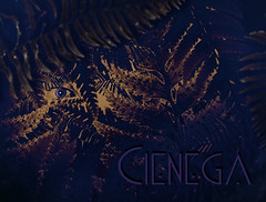 theFerns (Cienega Soon) Tags: light plant abstract fern detail macro green eye art floral up closeup backlight photoshop circle botanical back long artist pattern close under spot row dot line foliage part underside strap segment symmetrical vein below spotted spine lit straight shape botany disc beneath soon spotting backlighting cienega spores branching lined veined branched cienegasoon campyloneurum phyllitidis