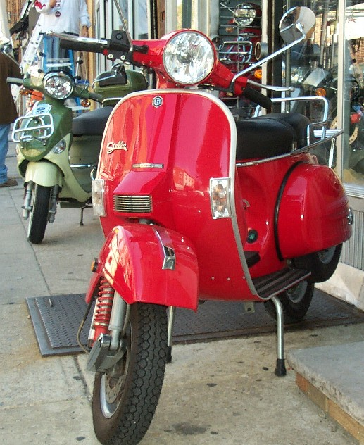 Philadelphia Used Scooters: 2005 GENUINE STELLA 150cc RED  SOLD!