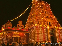 kudroli temple in mangalore on the behalf of dusera fest (vivekrajkanhangad) Tags: temples mangalore nevaratri gokarnathtemple