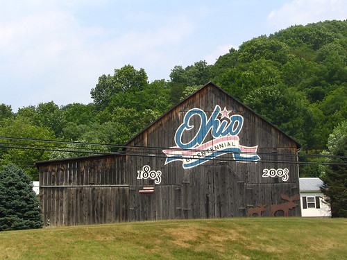 Brown county's Ohio Bicentennial Barn