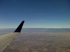 Flight over Denver