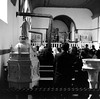 Mass in the village church (John Collier Jr.) Tags: blackandwhite bw usa history classic film museum america vintage collier us photographer unitedstates propaganda wwii documentary patriotic roosevelt historic professional worldwarii 1940s archives maxwell ww2 americana civildefense patriotism archival forties largeformat anthropology homefront worldwar2 40s fsa wartime newdeal owi waryears farmsecurityadministration officeofwarinformation johncollierjr