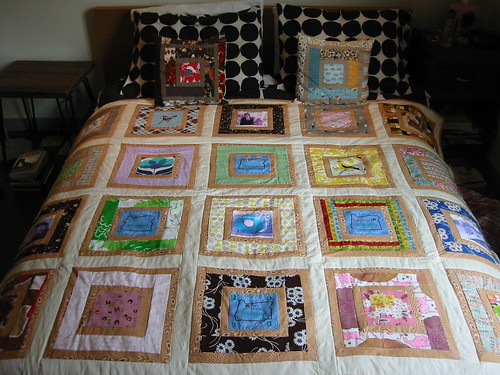 Modern Heirloom Quilt in action