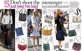 Celebrity Messenger Bags
