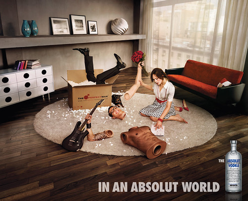 Absolut - In An Absolut World - Perfect Man / yforyerom