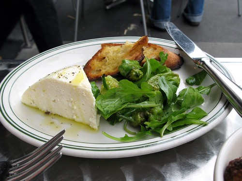 Baked Ricotta at Delfina Pizzeria
