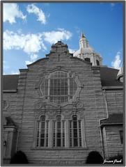 Beautiful Buildings (Danni0525) Tags: building indiana bluesky anderson churh selectivecoloring frozenflash danni0525