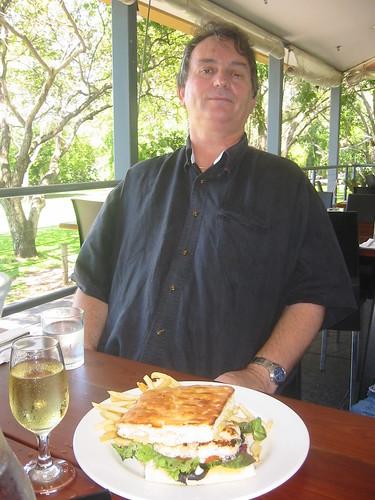 Lunch at Cornucopia Cafe