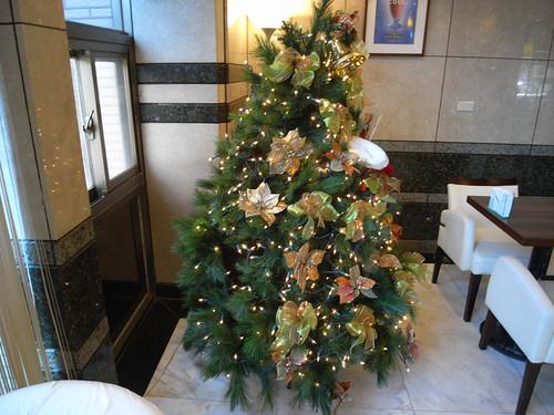 Y17餐廳裡的小耶誕樹