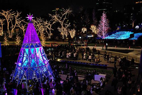 Tokyo Midtown X'mas eve 04