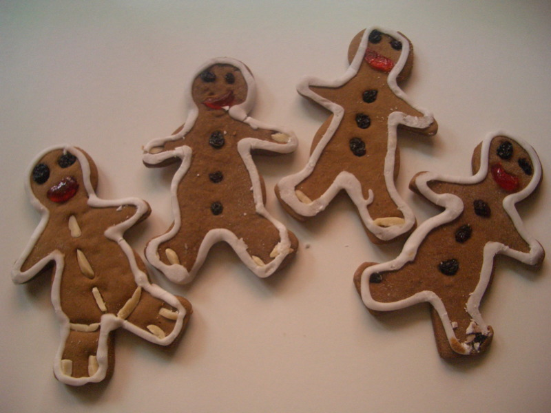 Francisca's gingerbread men