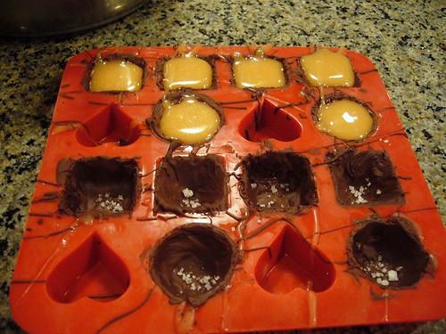 Dark Chocolate & Rosemary Caramel