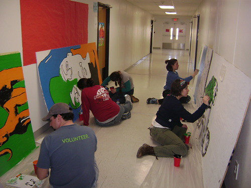 Carver Elementary Painting