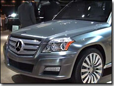 Mercedes GLK Freeside concept front