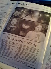 Project365: Day 25 (MelissaInWheaton) Tags: newspaper melissa press washingtonpost natalya hejhej project365