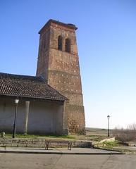 Boada de Campos (Palencia). Iglesia de San Pedro. Torre (rabiespierre) Tags: palencia tierradecampos boadadecampos