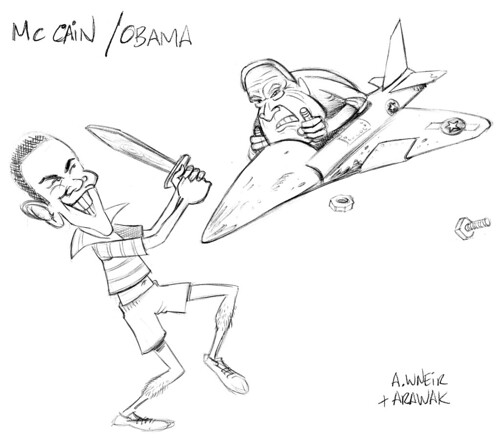 MC Cain VS Obama