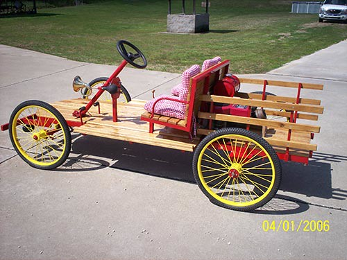 4 Wheel Parade Vehicle
