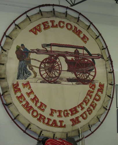 Firefighters Museum Welcome