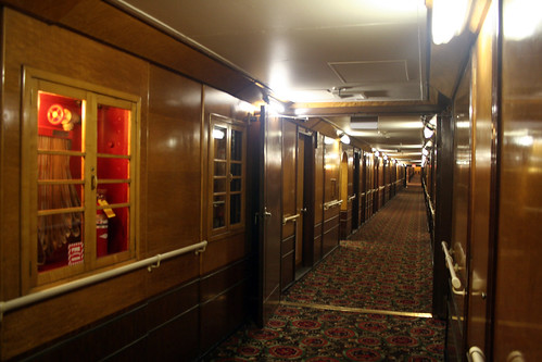 The Cabin Class Corridor - Main Deck