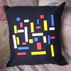Almohadón Mondrian (Lady Krizia) Tags: art arte pillow mondrian vinilo wilwarin estampado almohadon termoestampado
