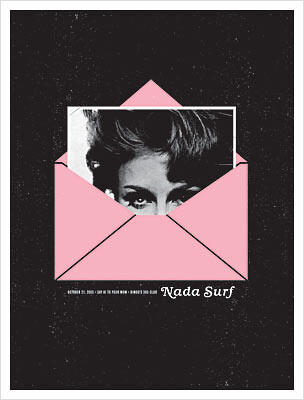 nada surf poster by the small stakes