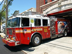 """S061e FDNY """"Eagle"""" Squad 61 Rescue-Pumper, Westchester, Bronx, New York City (jag9889) Tags: county city nyc rescue house ny newyork building station architecture truck fire eagle bronx bald engine company ii borough ladder squad firehouse 2008 fdny firefighters commander westchester 61 seagrave pumper bravest s061 ebaysold y2008 squad61 battalion20 jag9889 ens12"""