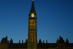 Parliament -- Peace Tower Photo